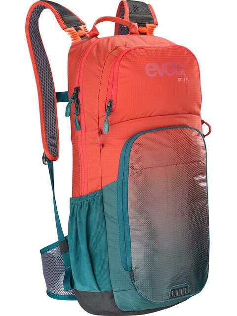 EVOC CC Lite Performance Backpack 16L Chili Red/Petrol
